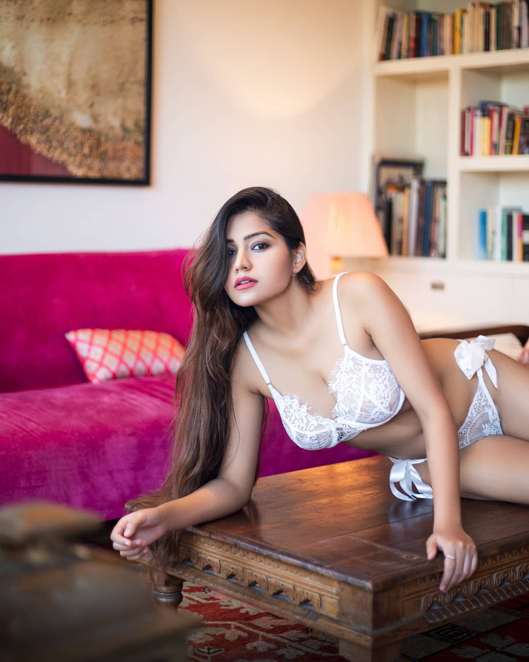 Simran Kaur in White Bikini | Indian Bikini Girl